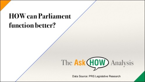 How can Parliament Function Better?