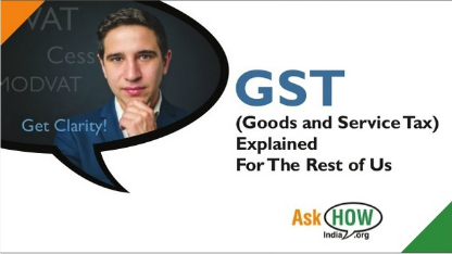 GST – Simplified for you!