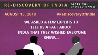 Rediscovery of India – Facts you should know!