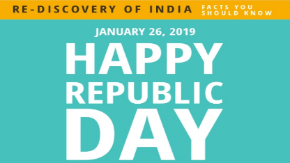 Rediscovery of India January 2019